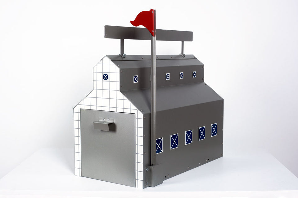 Mailbox by Stanley Tigerman & Margaret Curry for the Markuse Corp USA, c.1990