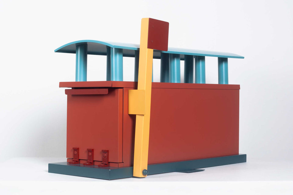 Michael Graves Architectural Mailbox for the Markuse Corp, 1990 USA