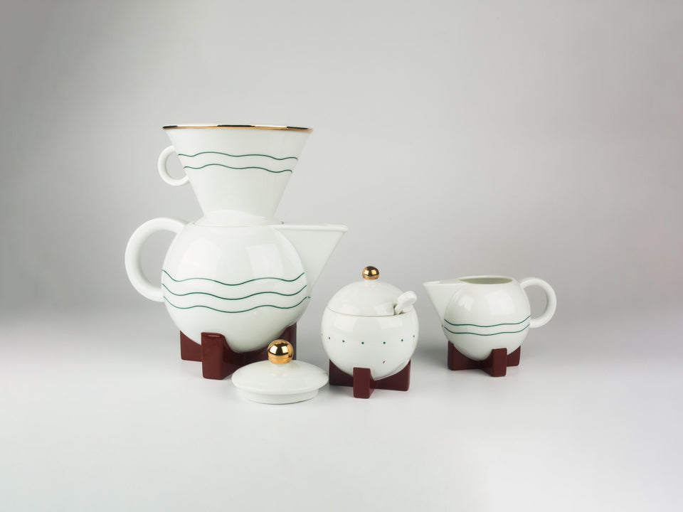 Little Dripper Coffee Set by MICHAEL GRAVES x SWID POWELL, USA, 1980s