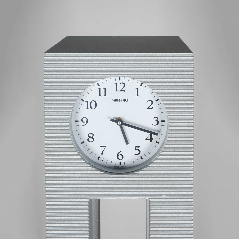 Freestanding floor clock by Japanese designer, Shigeru Uchida.