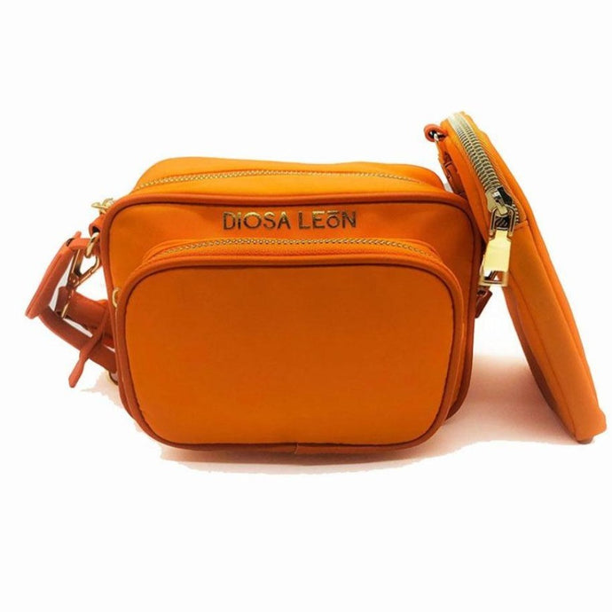 Orange Crossbody Bag - Diosa LeónCROSSBODY BAG Diosa León