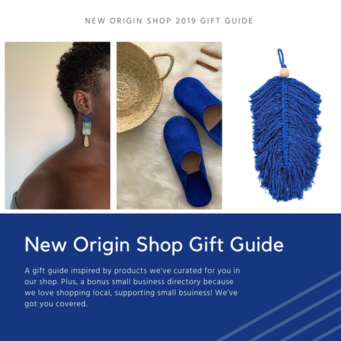 New Origin Shop 2019 Small Business Gift Giving Guide