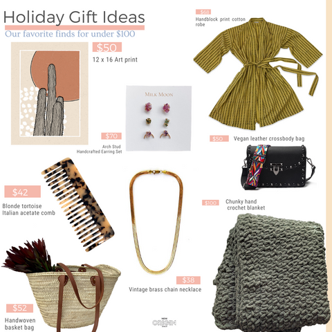 New Origin Gift Guide: Gifts under $100