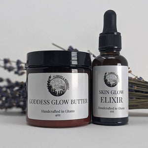 handcrafted in ghana shea and cocoa butter skin serum and elixir