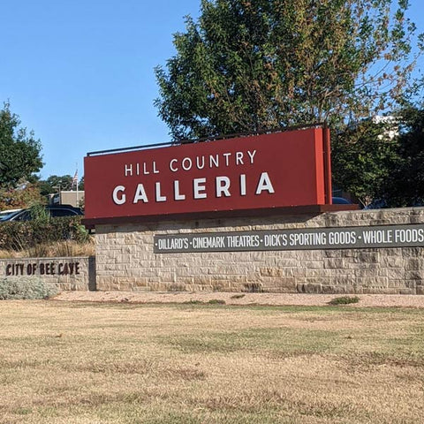 Hill Country Galleria Front Sign