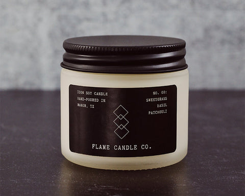 Flame Candle Co. Candle