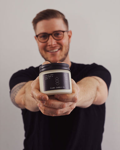 Meet The Maker: Jimmy Jackson of Flame Candle Company