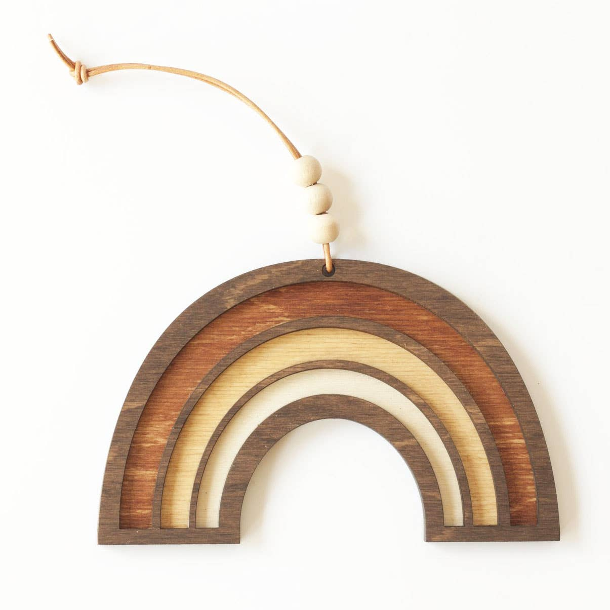 Savvie Studio - Wooden Rainbow Wall Charm - New Origin Shop