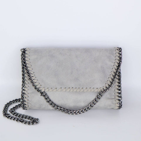The Vegan Warehouse - Alicia Cross Body - Grey - New Origin Shop