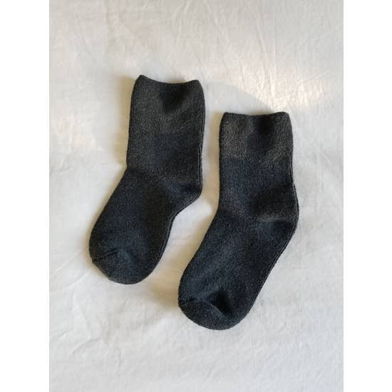 Cloud Socks-Charcoal