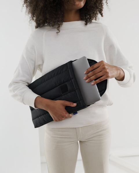 Puffy Laptop Sleeve Black-13 - New Origin Shop