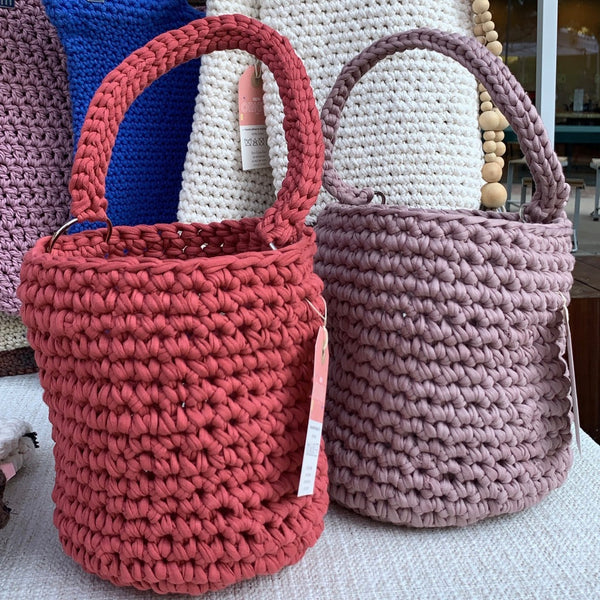 Crochet bucket bag - New Origin Shop