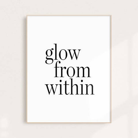 Glow From Within Wall Art Print