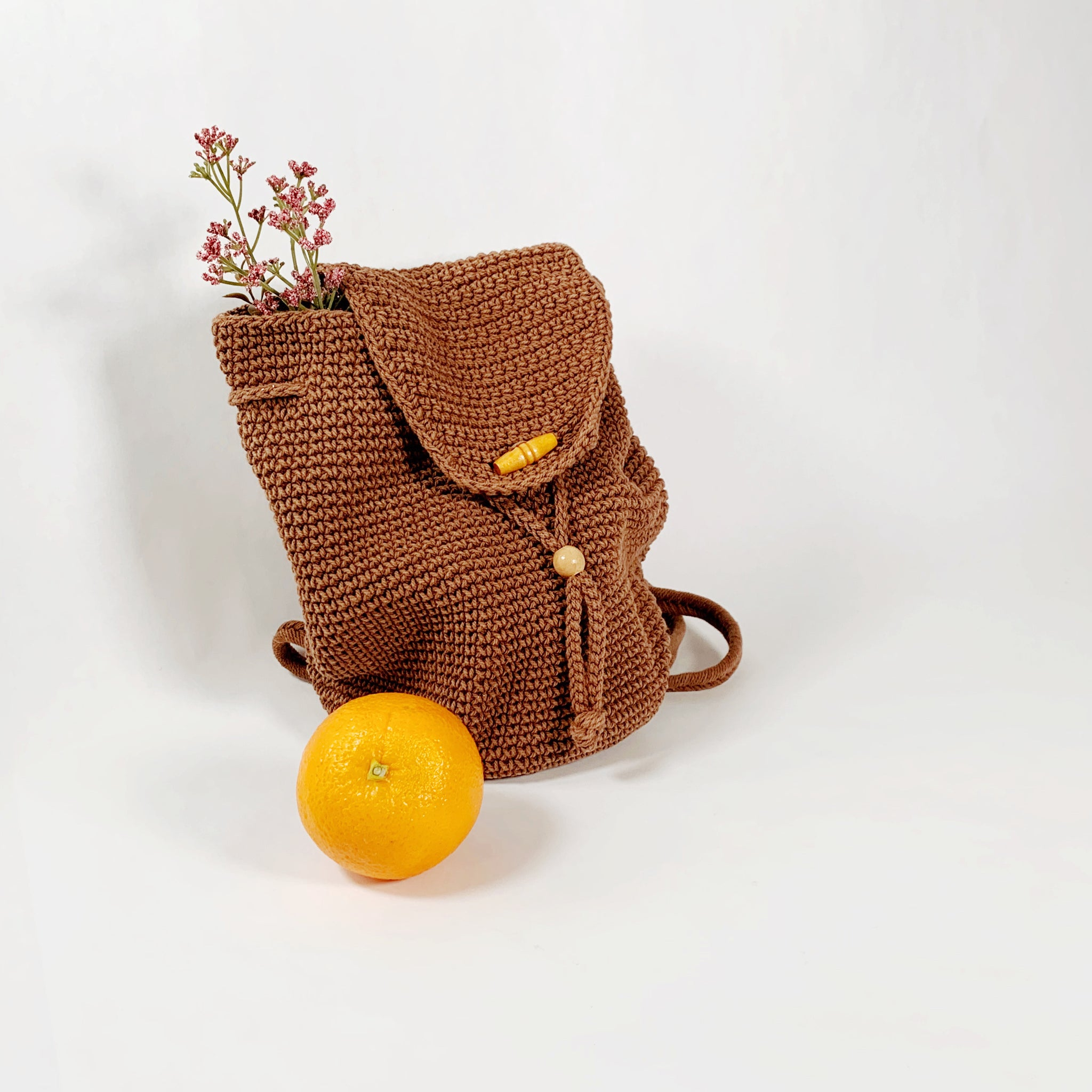 Woven Drawstring Backpack - New Origin Shop