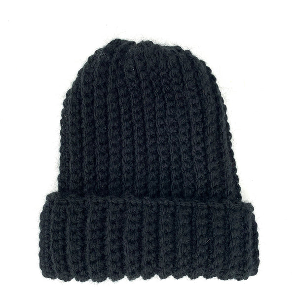 Black Beanie Hat - New Origin Shop
