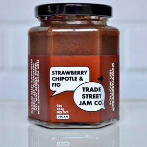 Trade Street Jam Co. - Strawberry Chipotle and Fig Jam-9 oz.