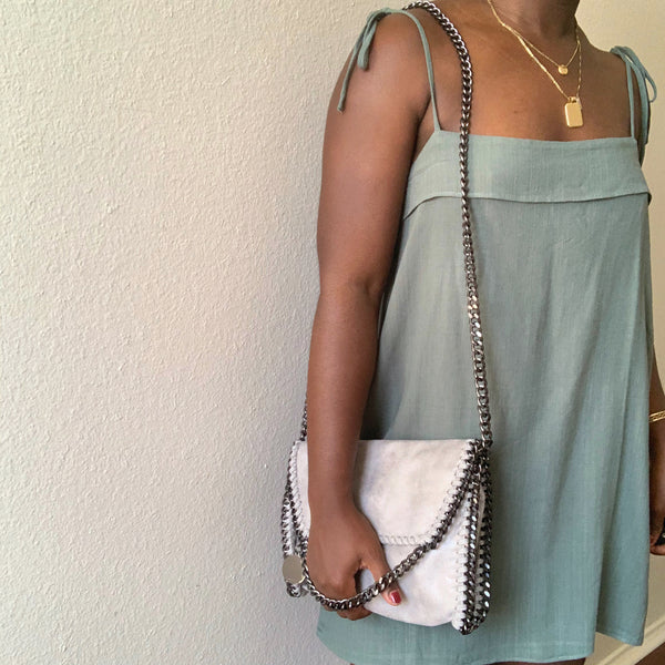 The Vegan Warehouse - Alicia Cross Body - Grey