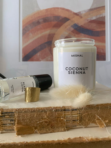 Coconut Sienna 8oz Soy Candle