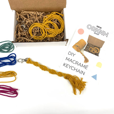 DIY Macrame Keychain Kit - New Origin Shop