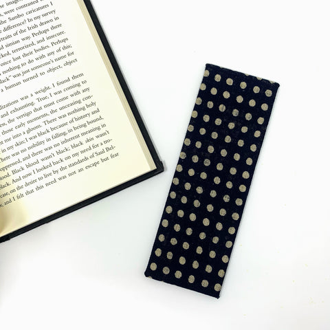 handmade fabric book mark made in conneticut