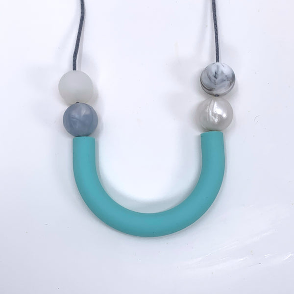 Blue Teething | Nursing Necklace - New Origin Shop