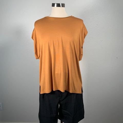 Ochre Short Sleeve Top - New Origin Shop LLC