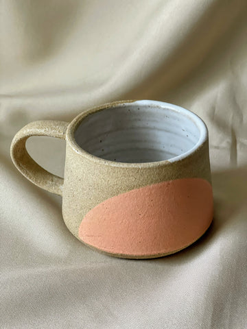 good hearted women handcrafted ceramic mug