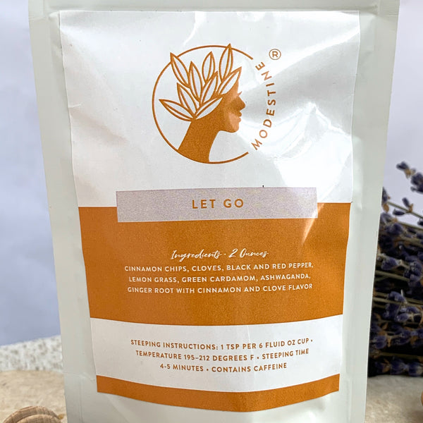handmade zesty lemongrass tea black owned tea brand