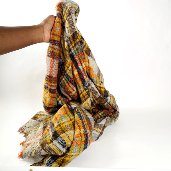 Oversized blanket scarf - New Origin Shop