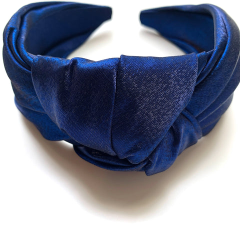 Satin Texture Wide Knot Headband - New Origin Shop