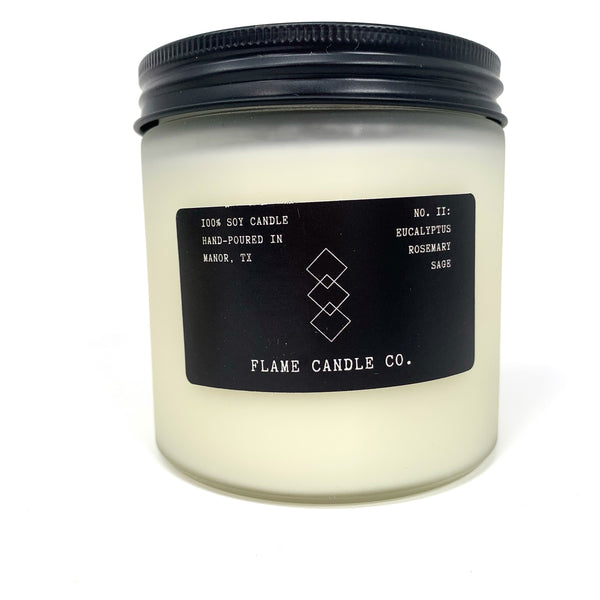 No. 11- Eucalyptus Rosemary Sage Candle - New Origin Shop