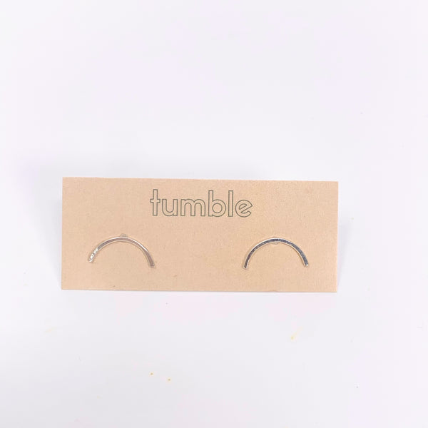 Arch Studs-Sterling Silver - New Origin Shop