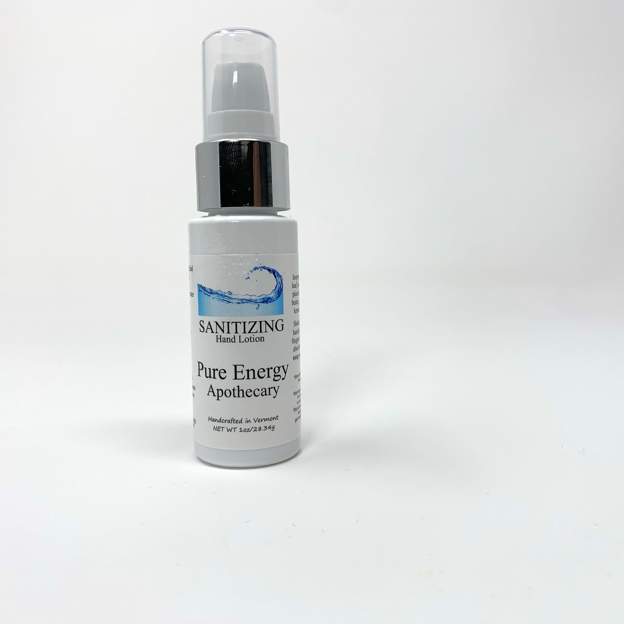Pure Energy Sanitizer Lotion -Unscented - New Origin Shop