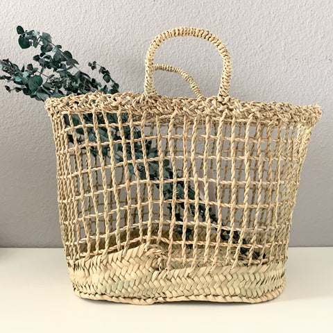 French Woven Basket - New Origin Shop