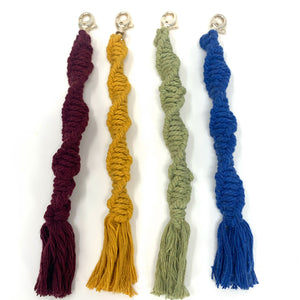 Macrame Keychain - New Origin Shop