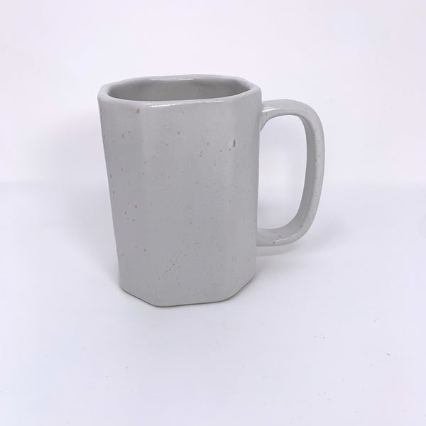 Matte White with Black Speckled Ritual Mugs - New Origin Shop