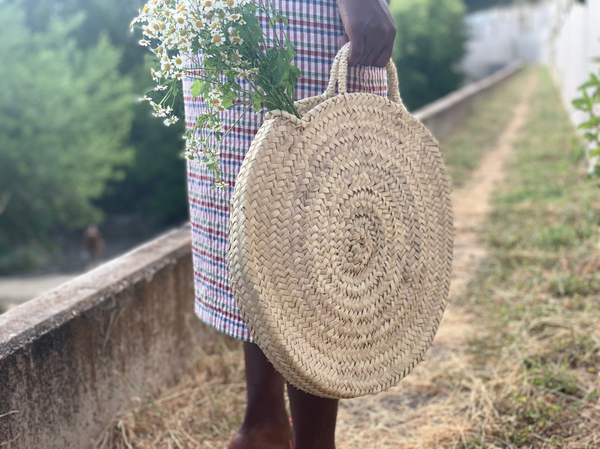 Round Straw Bag - New Origin Shop