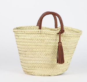 Tassle Basket Bag