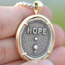 Load image into Gallery viewer, The Semicolon Hope Medallion