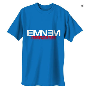 Eminem Berzerk Logo - Mens Royal Blue T-Shirt