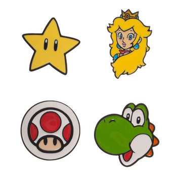 Super Mario Lapel Pins Super Mario Brothers Accessories Mario Gift - Super Mario Accessories Super Mario Gift