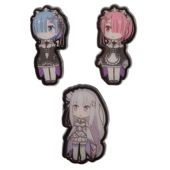 Re: Zero Anime Lapel Pins Anime Accessories - Re: Zero Accessories Anime Gift
