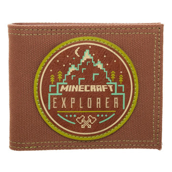 Minecraft Wallet Explorer Gift for Gamers Minecraft Accessory - Video Game Wallet Minecraft Gift