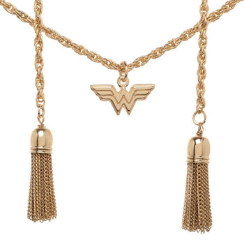 DC Comics Wonder Woman Lasso of Truth Charm Necklace