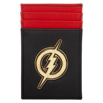 Flash Wallet DC Comics Accessory Flash Gift - Front Pocket DC Comics Wallet Flash Accessory