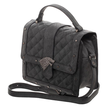 Game Of Thrones House Stark Quilted Detail Handbag Hand Bag