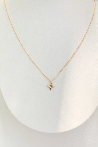 LV Tiny Blooming Flower Necklace