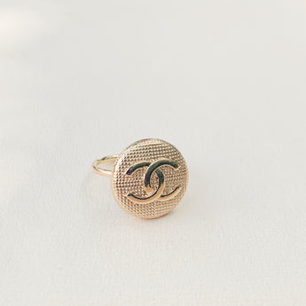 CC Gold Circle Ring
