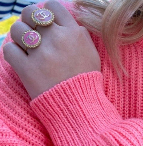 Pink Rope CC Ring