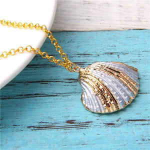 Scallop Shell Necklace II.